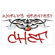 World's Greatest Chef Poster