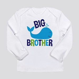 Whale Big Brother Long Sleeve T-Shirt