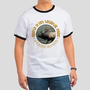 Grand Teton NP (elk) T-Shirt