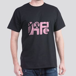 Think Hope (LtPink/Black) Dark T-Shirt