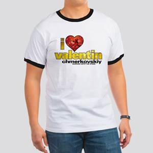 I Heart Valentin Chmerkovskiy Ringer T-Shirt