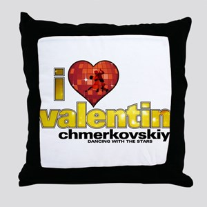 I Heart Valentin Chmerkovskiy Throw Pillow