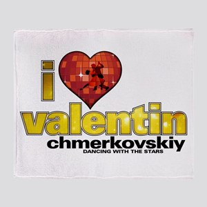 I Heart Valentin Chmerkovskiy Throw Blanket