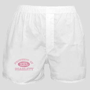 Property of Scarlett Boxer Shorts