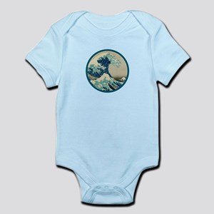 Kanagawa great wave Infant Bodysuit
