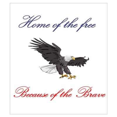 Home of the free... Canvas Art
