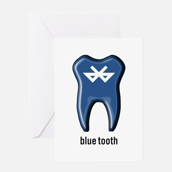 blue tooth bluetooth Greeting Card
