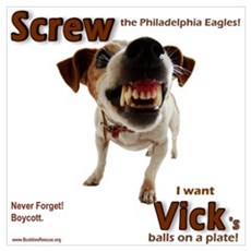 Screw Vick! Framed Print