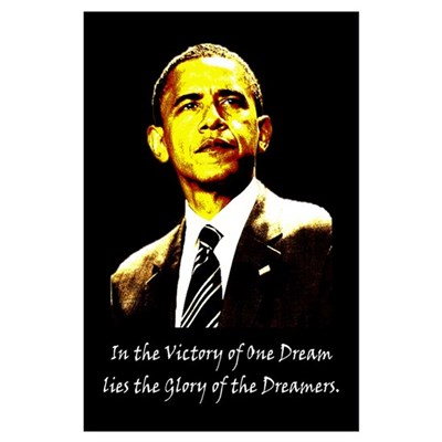 Obama Victory of a Dream Poster