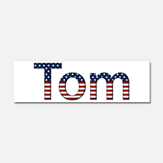 Tom Stars and Stripes 10x3 Car Magnet
