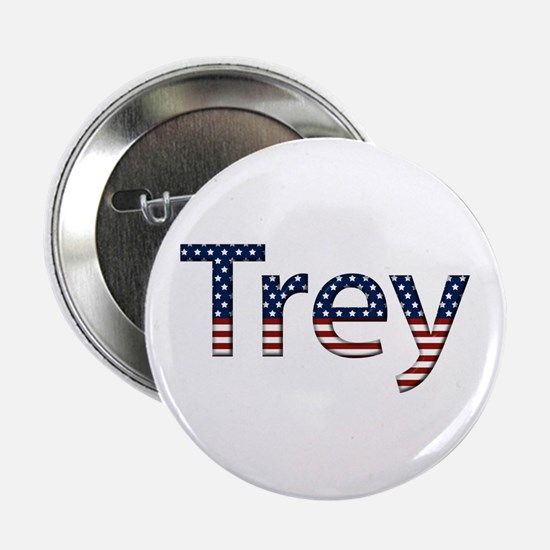 Trey Stars and Stripes Button