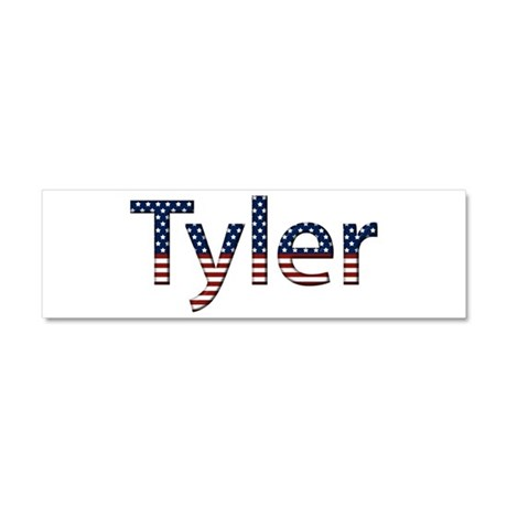 Tyler Stars and Stripes 10x3 Car Magnet