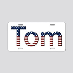 Tom Stars and Stripes Aluminum License Plate