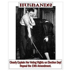 Political Humor (Wife) Poster