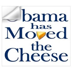Obama Has Moved the Cheese Wall Decal