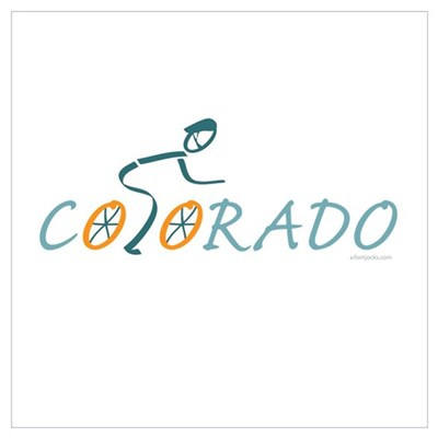 Bike Colorado Poster