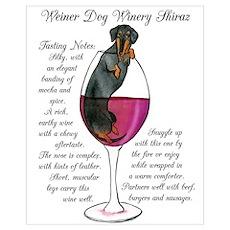 Weiner Winery Shiraz Poster