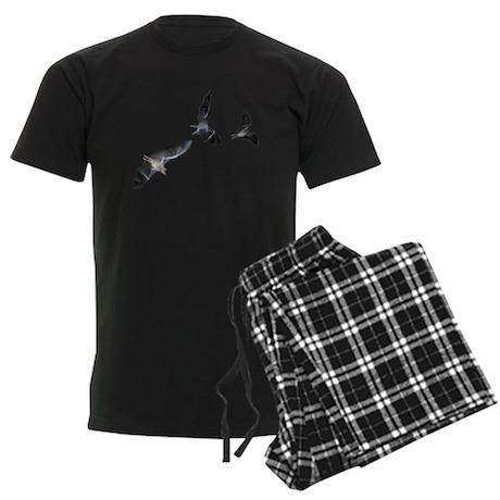THREE BAT Men's Dark Pajamas