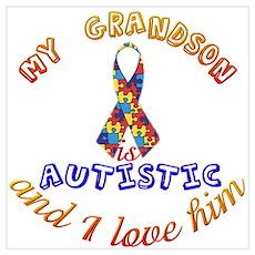 Autistic Grandson Poster
