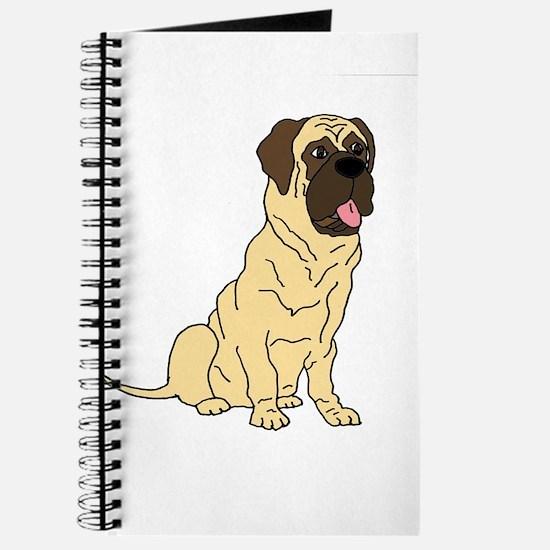 Cute English Mastiff Dog Journal