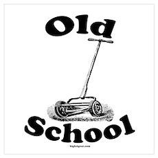 Push Mower (Old School) Poster
