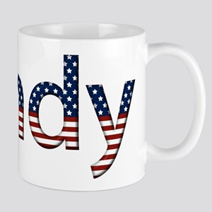Sandy Stars and Stripes Mug