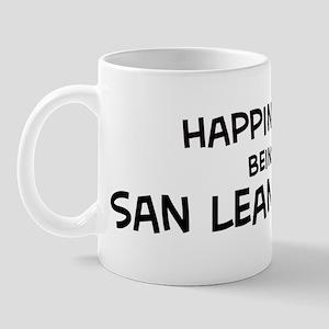 Happiness is San Leandro Mug