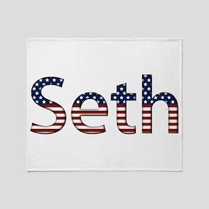Seth Stars and Stripes Throw Blanket