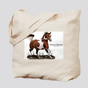 Pinto Horse Tote Bag