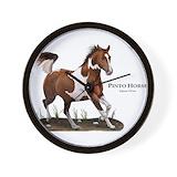 Pinto horse Wall Clocks
