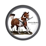 Pinto horse Basic Clocks