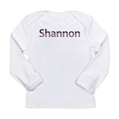 Shannon Stars and Stripes Long Sleeve Infant T-Shi