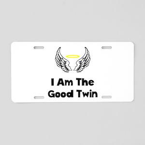 Good Twin Aluminum License Plate