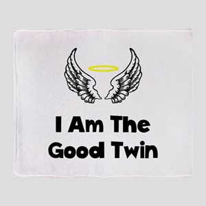 Good Twin Throw Blanket