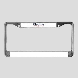 Skyler Stars and Stripes License Plate Frame