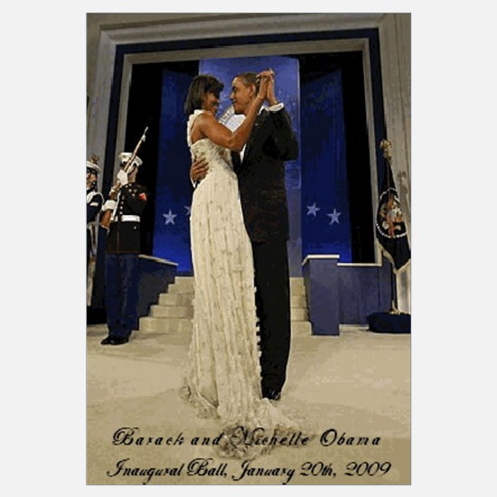 Unique Barack and michelle dancing Wall Art
