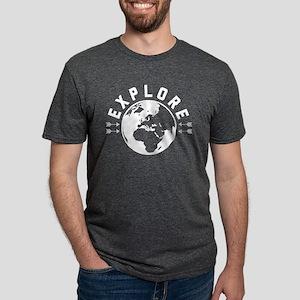 Explore Mens Tri-blend T-Shirts