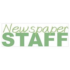 Newspaper Staff Poster
