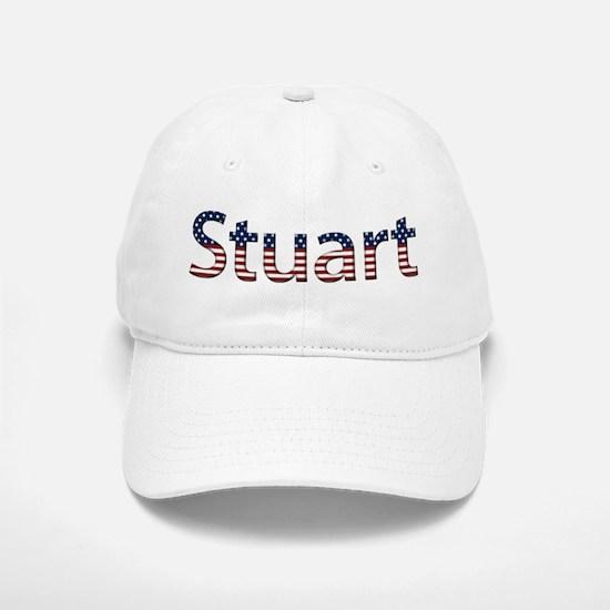 Stuart Stars and Stripes Baseball Baseball Cap