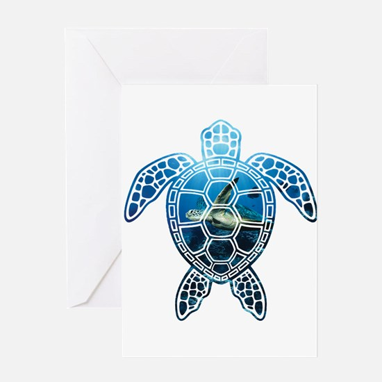Cute Ninja turtles Greeting Card