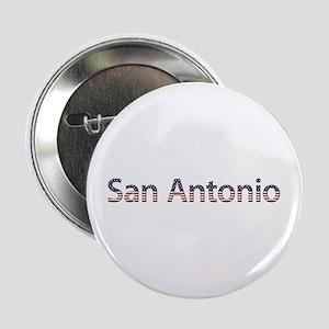 San Antonio Stars and Stripes Button