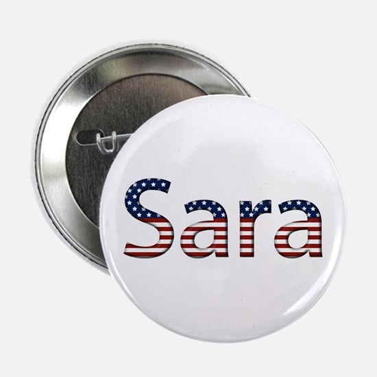 Sara Stars and Stripes Button