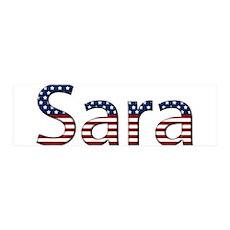 Sara Stars and Stripes 42x14 Wall Peel