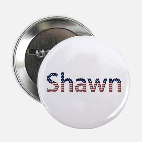 Shawn Stars and Stripes Button