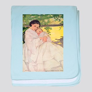 Mother and Child baby blanket