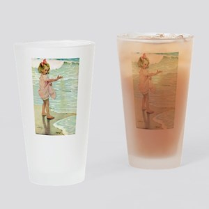 By The Ocean Drinking Glass