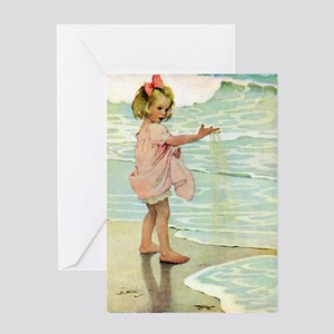 By The Ocean Greeting Card