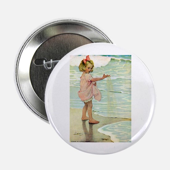 """By The Ocean 2.25"""" Button (10 pack)"""