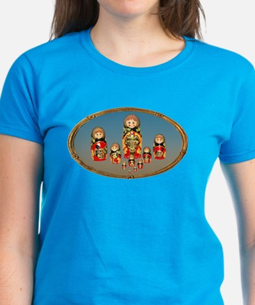 Russian Dolls Women's Dark T-Shirt