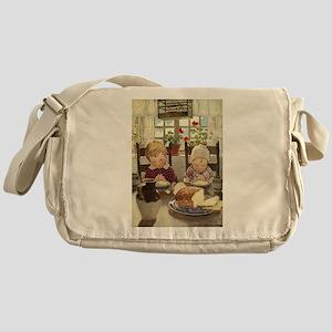 Saying Grace Messenger Bag